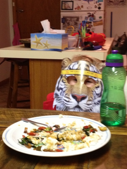 a tiger came for tea