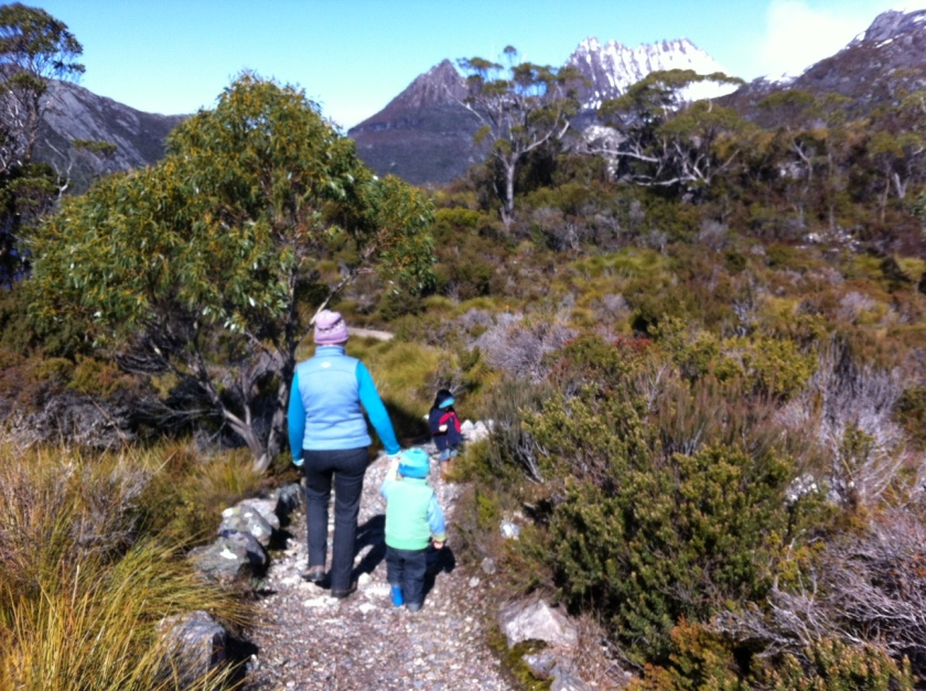 Bushwalking is great when you pack chocolate cake.