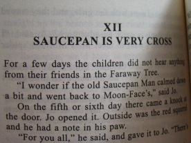 Saucepan is VERY CROSS