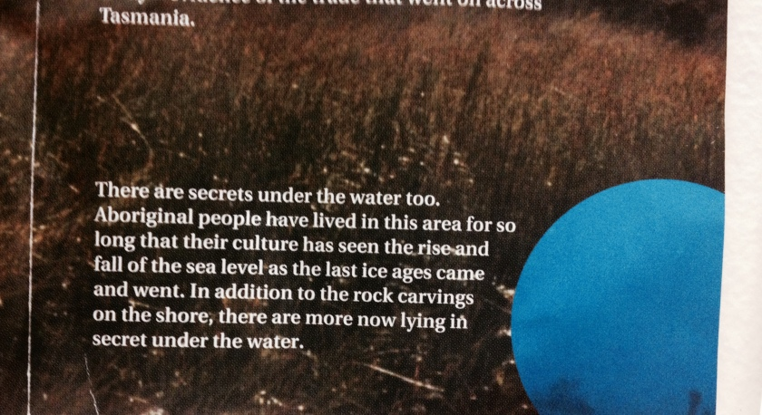 aboriginal underwater relics